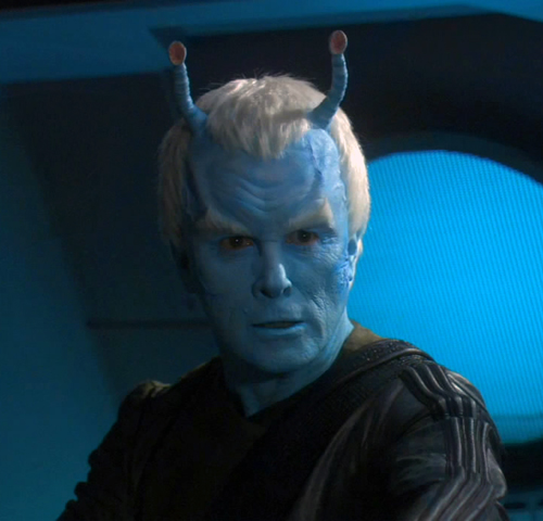Andorian-muž: Star Trek Enterprise
